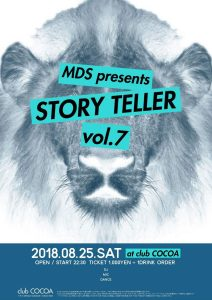 STORY TELLER vol.7 (Reggae/Jungle/Dudstep/House) @ club COCOA