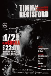 Timmy Regisford Japan Tour 2019 (House)