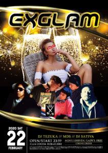 EXGLAM (HipHop/Reggae) @ 函館 Club COCOA